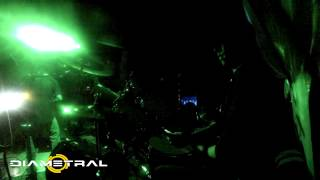 "DIAMETRAL - ""Intro "" y ""Ancestros"" EN VIVO - 06/04/2014 - HAVOK en Chile"