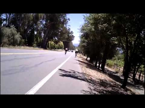 2012 Tour de Menlo 100K Test Ride Part 2/3 (Pulgas Water Temple to Triangle Park)