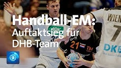 Handball-EM: Deutschland schlägt Niederlande