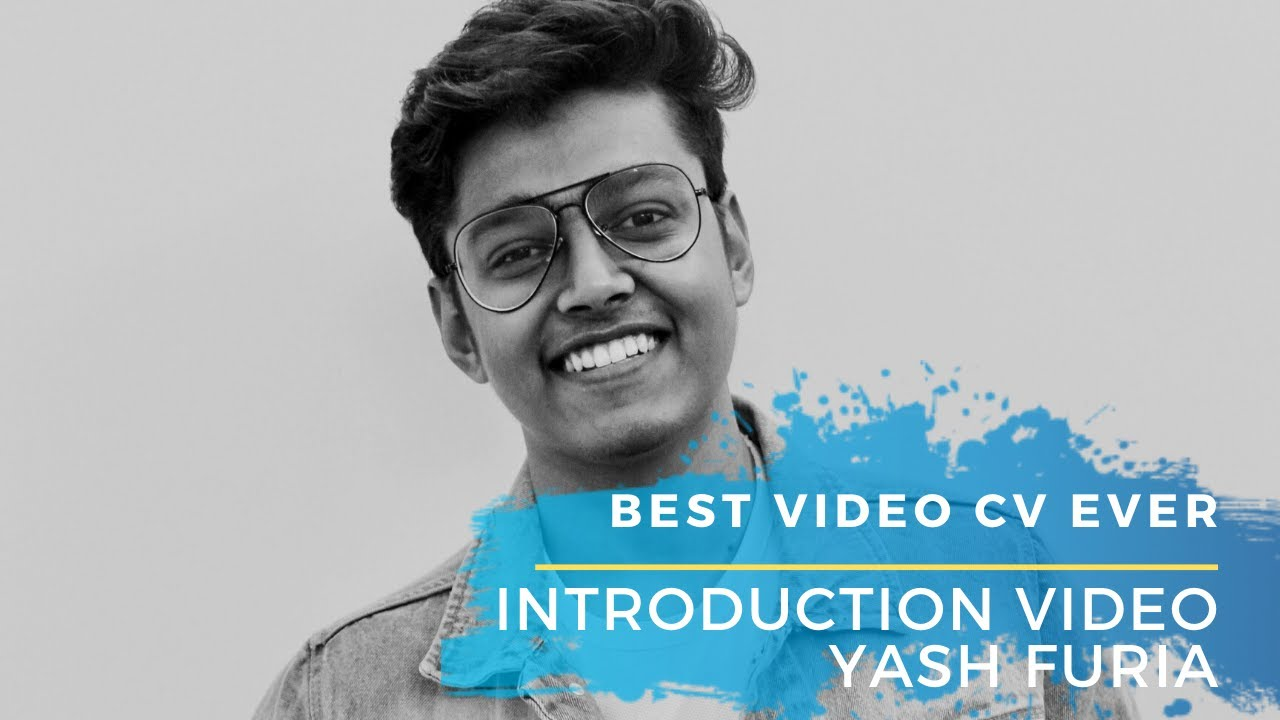 best video resume  introduction