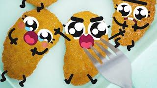 Best Cute Food Doodles Megacompilation 🐔🍗  #21