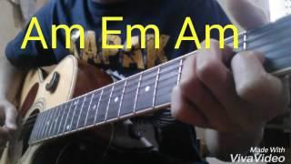 Petikan gitar lagu kelangan #part 2