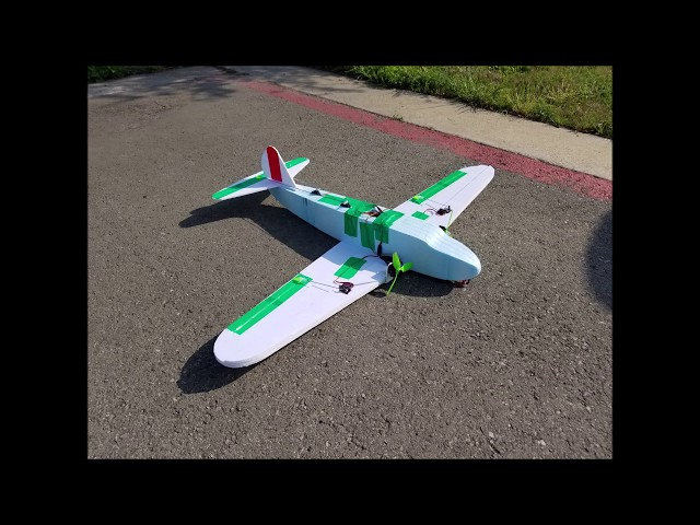 DiscoverRC Airliner Contest Home Edition plus KFM Wing Casual Fly