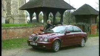 Rover 75 and Jaguar S-Type driven
