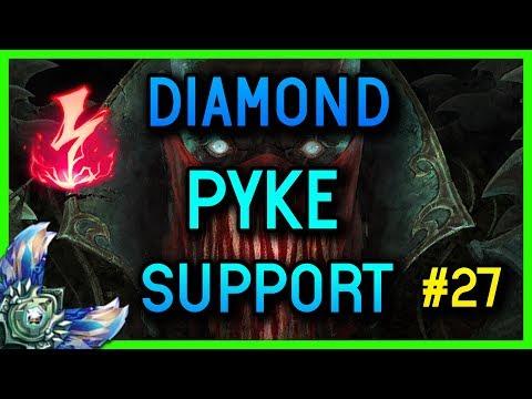 DIAMOND SUPPORT PYKE GAMEPLAY #27 - League of Legends thumbnail