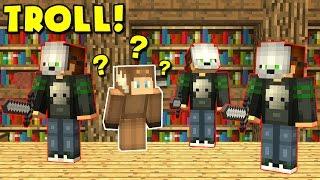 FAKE MURDERER MINECRAFT TROLL! (Minecraft MURDER MYSTERY Trolling)
