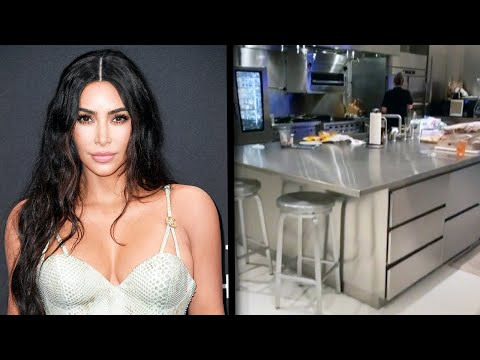 An Inside Look at Kim Kardashian's Epic Kitchen