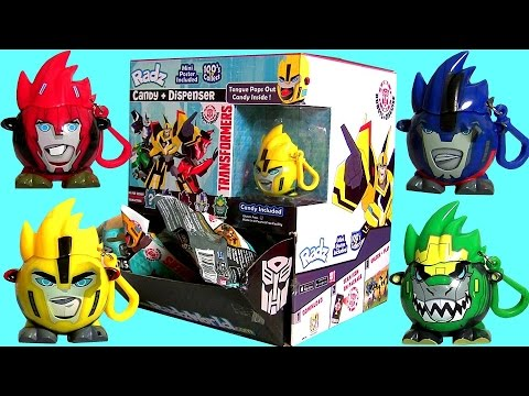 Radz Transformers The Movie Candy Dispenser Full Case