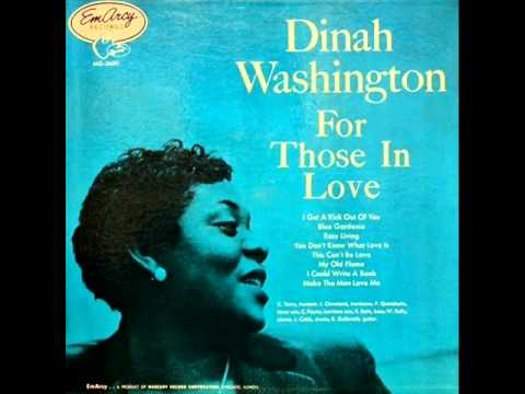 Dinah Washington with Quincy Jones Octet - I Get a Kick Out of You music