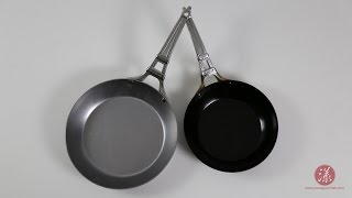 碳钢煎锅西式开锅法 Carbon Steel Fry Pan Seasoning  |【漾漾美味】第4集