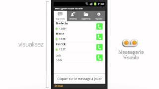 La Messagerie Vocale Visuelle sur votre Smartphone