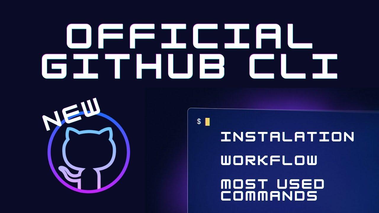NEW GitHub CLI 1.0 is here! | GitHub CLI Tutorial - Demo & Commands