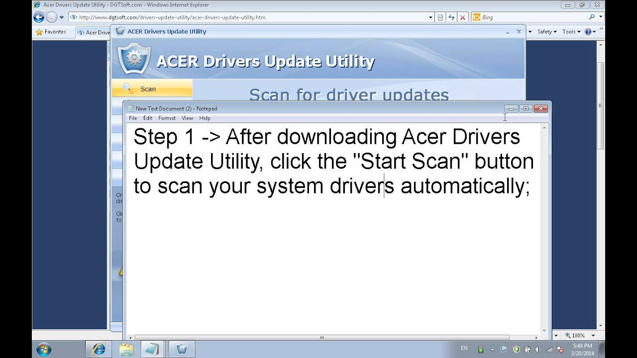 free license key for acer drivers update utility