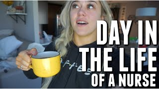 DAY IN THE LIFE OF NURSE | PROTEIN? GREENS? ENERGY DRINKS?
