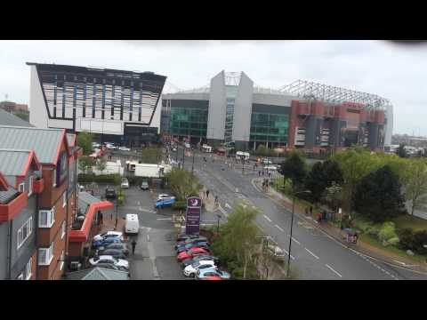 Premier Inn Old Trafford - View From Room 911 6th Floor...