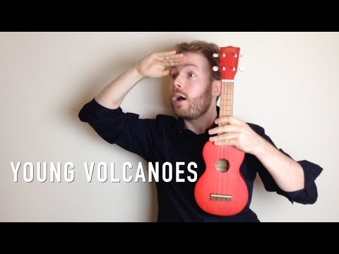 Young Volcanoes - Fall Out Boy (Ukulele Tutorial) - YouTube