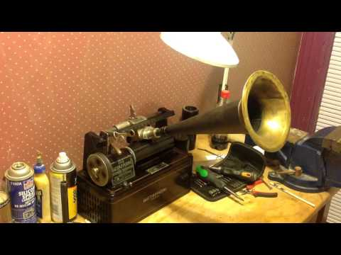 1910 dictaphone / mp3 transfer / excellent results