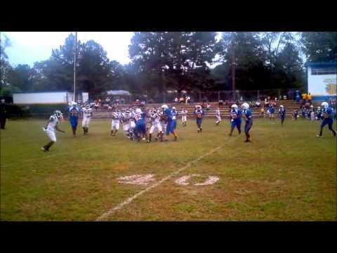 2012 Colts Pee Wees vs Kemper Co.Wildcats