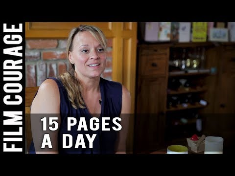 Writing 15 Pages Of A Screenplay Per Day by Christine Conradt