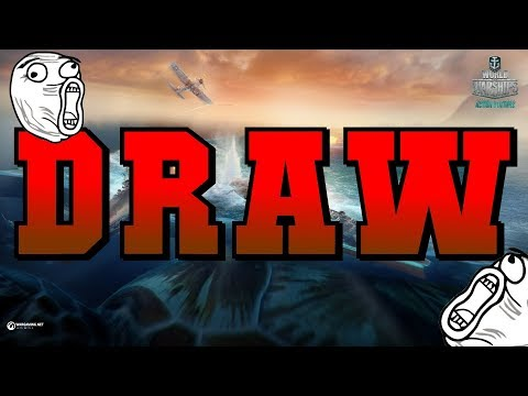 DRAW!? Des Moines || World of Warships