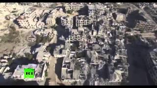 СМОТРИ ШОКИРУЮЩИЕ ВИДЕО! ОСТАТКИ ГОРОДА ДАМАСКА Новости 23 12 2015 СИРИЯ ИГИЛ