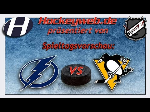 NHL-Vorschau: Tampa Bay Lightning vs. Pittsburgh Penguins | Hockeyweb.de
