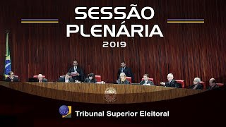 Sessão Plenária do dia 25 de abril de 2019.