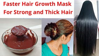 Super fast hair growth mask with Bhringraj for Strong Thick and Long Hair 15 days Hair challenge