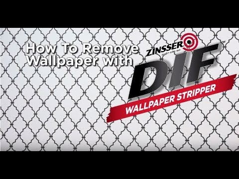 Removing Wallpaper Is Simple With DIF Removal Products