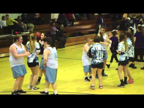 Waterville vs Oceanside unified basketball