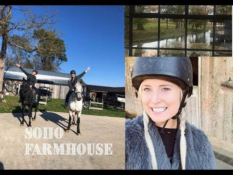 SOHO FARM HOUSE #BIRTHDAYWEEKVLOG1 2018 | Chloe James