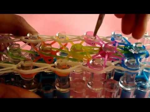 NEW Rainbow Loom  Blooming Butterflies Bracelet | Original Design