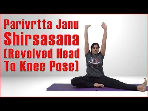 Ashtanga Yoga: Parivrtta Janu Shirsasana (Revolved Head To Knee Pose) & Its Benefits