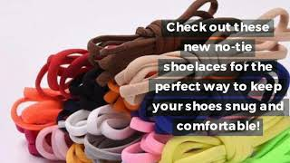Get The Best No Tie Shoelaces For Comfortable Running With No Adjustment