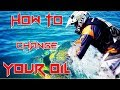 SEA DOO SPARK How To Change Oil And Filter And Winterization PART 3 OF 4
