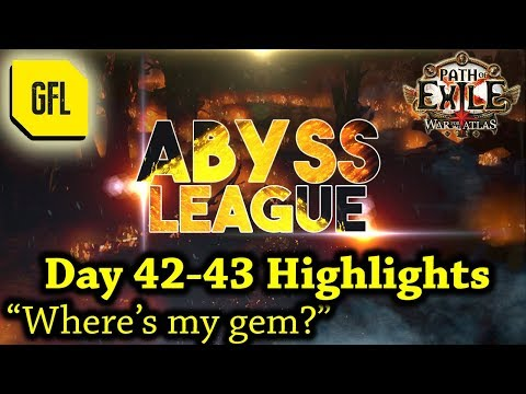 "Path of Exile 3.1: War for the Atlas DAY #42-43 Highlights ""Where's my gem?"""
