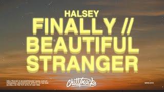 Halsey - Finally // beautiful stranger (Lyrics)