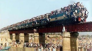 mumbai local train rush The Most Crowded Train In The World