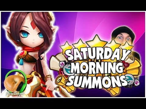 SUMMONERS WAR : Saturday Morning Summons - 500+ Mystical, LD, Legendary Scrolls and more! (3/10/18)