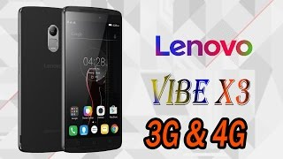 Lenovo launches Vibe X3  in India exclusive Mubile Mobile