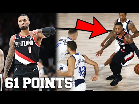 Damian Lillard Drops 61 POINTS on Dallas Mavericks! Paul George Beef Over! (Highlights)