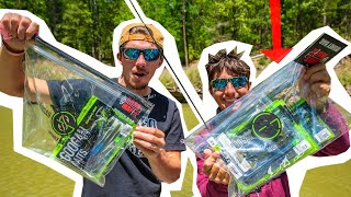 MONEY BAG Fishing Challenge! ( AP vs Jon B )