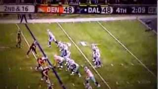 Tony Romo Interception 10/6