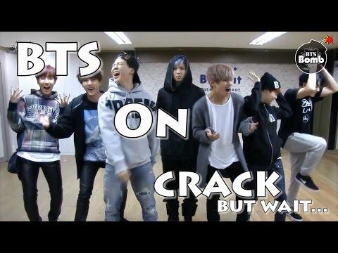 BTS - War Of Hormone (Real War.) On Crack!!