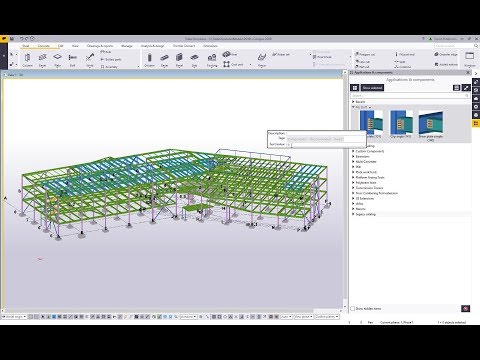 Customizing your Component Catalog within Tekla Structures
