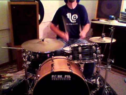 Jon Biggs Pork Pie Drums Tribute to Bonzo