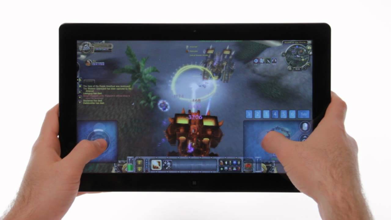 games on a tablet