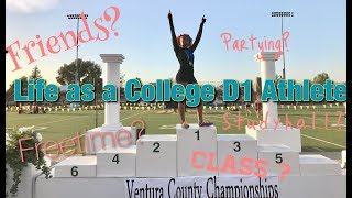 A DAY IN THE LIFE OF A D1 STUDENT ATHLETE !!! VLOG