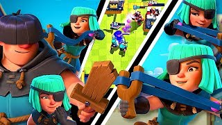 RASCALS UPDATE + COSPLAY! [NICKATNYTE] Clash Royale New Card!