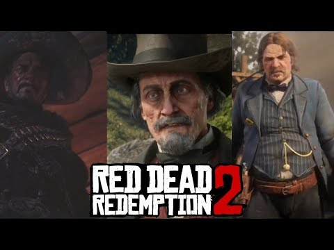 Red Dead Redemption 2 All 4 Legendary Gunslingers Gunslinging Duels